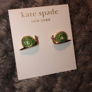 Kate Spade Snail Earrings